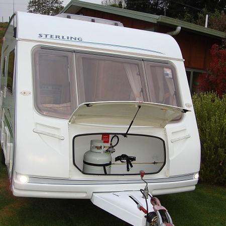 2004 Sterling Eccles 2 Berth Ezitow European Caravans
