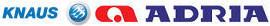 Knaus and Adria logos